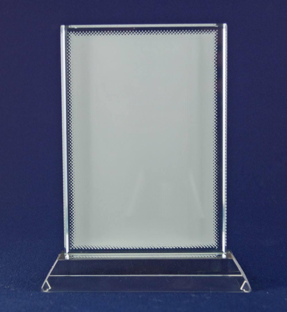 Glasbild im Hochformat mit Fotodruck CC28