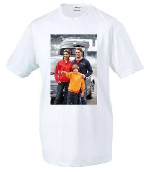 Sublimations T-Shirt mit Fotodruck bei TDruck.de - Freizeitmode