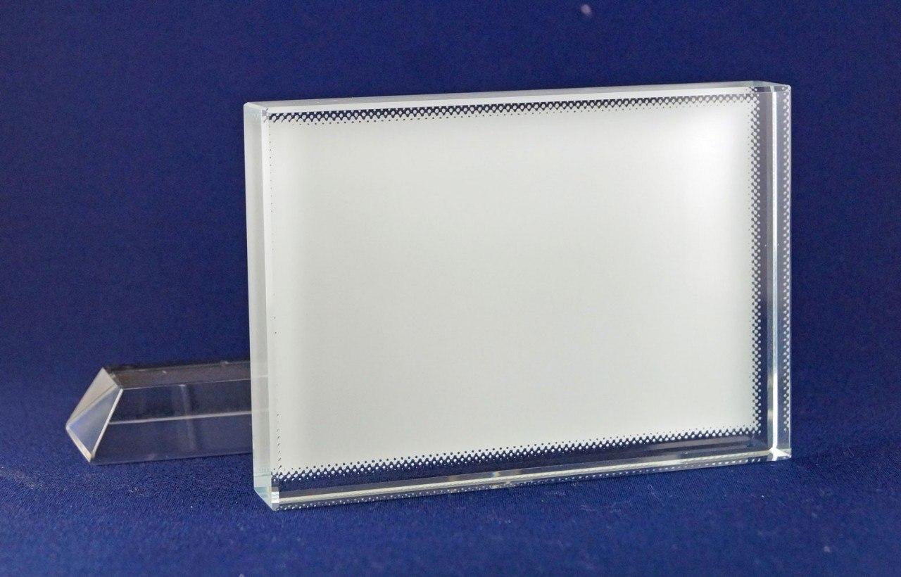 Glasbild im Querformat mit Fotodruck CC27
