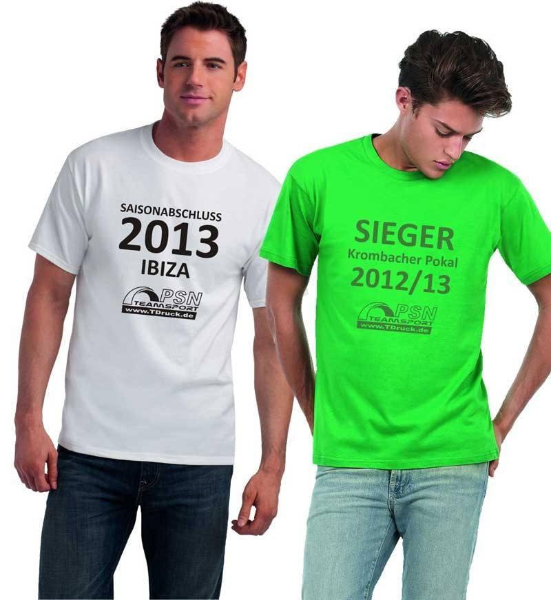 T-Shirt Spar-Set BCTU002 bei TDruck.de - Freizeitmode